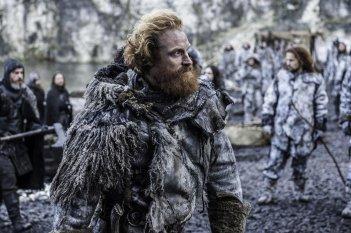 Il trono di spade: Kristofer Hivju interpreta Tormund nell'episodio Aspra dimora