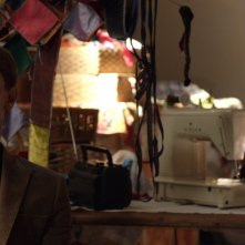 Io, Arlecchino: Giorgio Pasotti con Lunetta Savino in una scena del film
