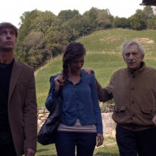 Io, Arlecchino: Giorgio Pasotti con Roberto Herlitzka e Valeria Bilello in una scena