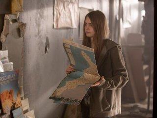 Cattà di carta: Cara Delevingne in una scena del film