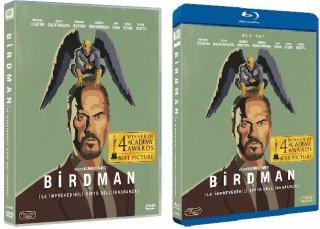 le cover homevideo di Birdman