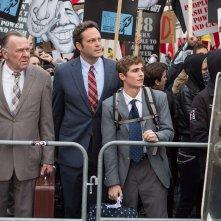 Affare fatto: Vince Vaughn in una scena del film con Tom Wilkinson e Dave Franco