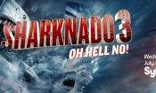 Sharknado 3: un folle promo del nuovo film di Syfy
