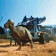 Il mondo perduto - Jurassic Park: il Pachicefalosauro catturato