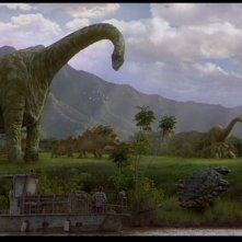 Jurassic Park III: dinosauri al pascolo, da Brachiosauri a Anchilosauri