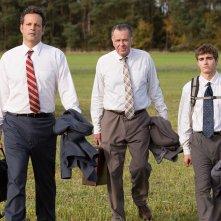 Affare fatto: Vince Vaughn, Tom Wilkinson e Dave Franco in una scena