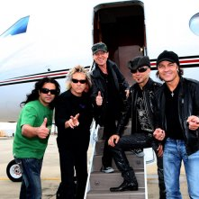 Scorpions - Forever and a Day: il gruppo in una scena del documentario