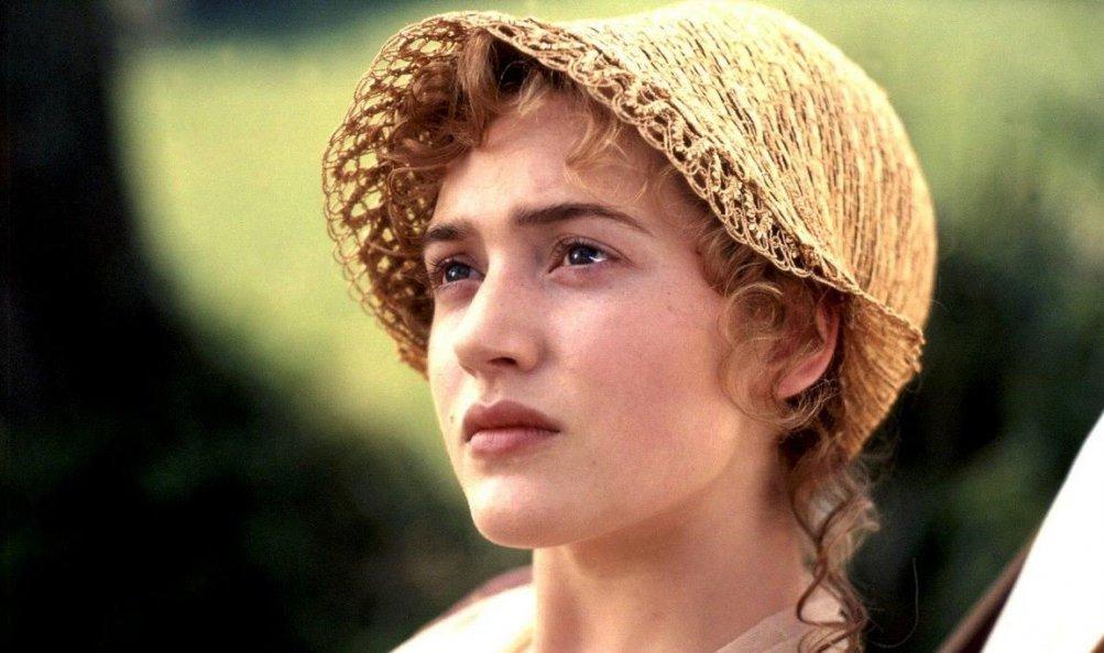 Ragione e sentimento: un primo piano della giovane Kate Winslet