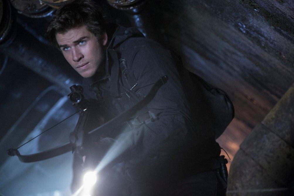 Hunger Games: Il canto della rivolta - Parte 2: Liam Hemsworth in una scena del film
