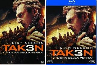 Le cover homevideo di Taken 3