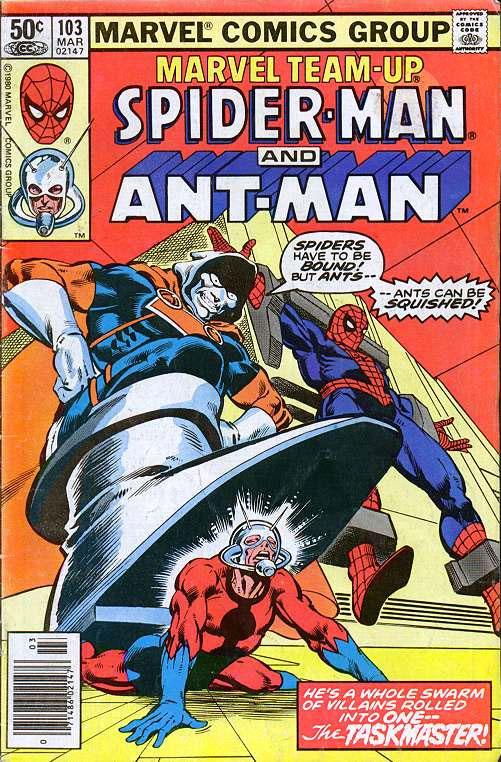 Ant-Man: nei fumetti un legame con Spider-Man