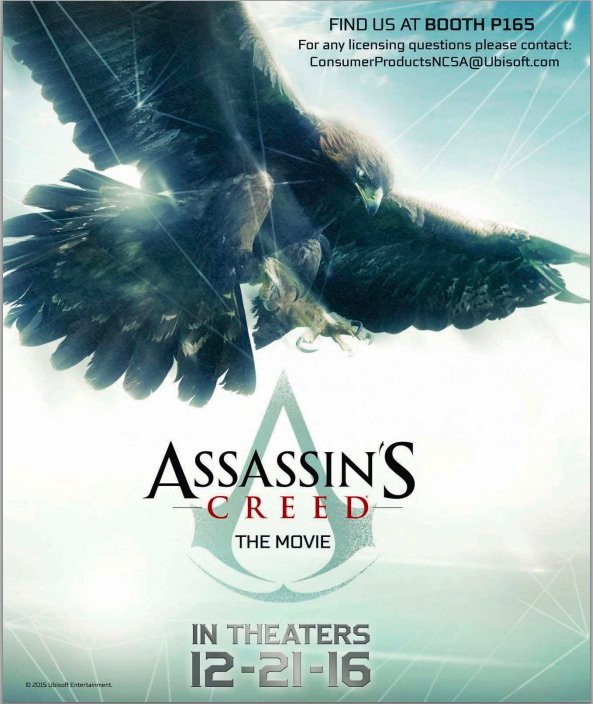 Assassin's Creed: il primo promo poster