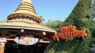 L'attrazione Jurassic Park River Adventure in Florida