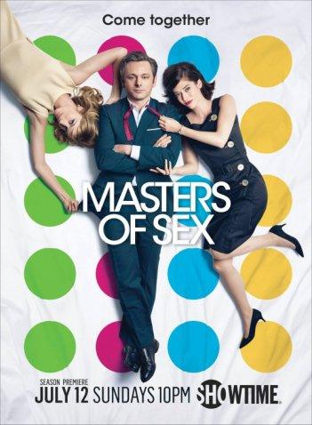 Masters of Sex: una locandina per la terza stagione