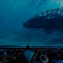 Jurassic World: un'immagine del Mosasauro