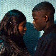 Diamante nero: Karidja Touré con Idrissa Diabate in una scena