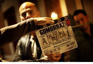 Gomorra - La serie: Marco D'Amore durante le riprese