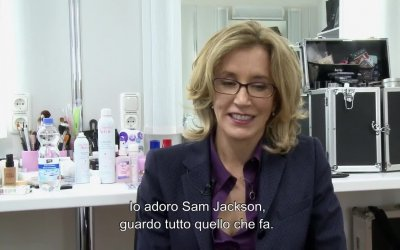 Intervista esclusiva a Felicity Huffman - Big Game - Caccia al Presidente