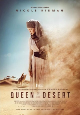 Queen of the Desert: la nuova locandina