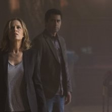 Fear the Walking Dead: Kim Dickens e Cliff Curtis in un'immagine della serie