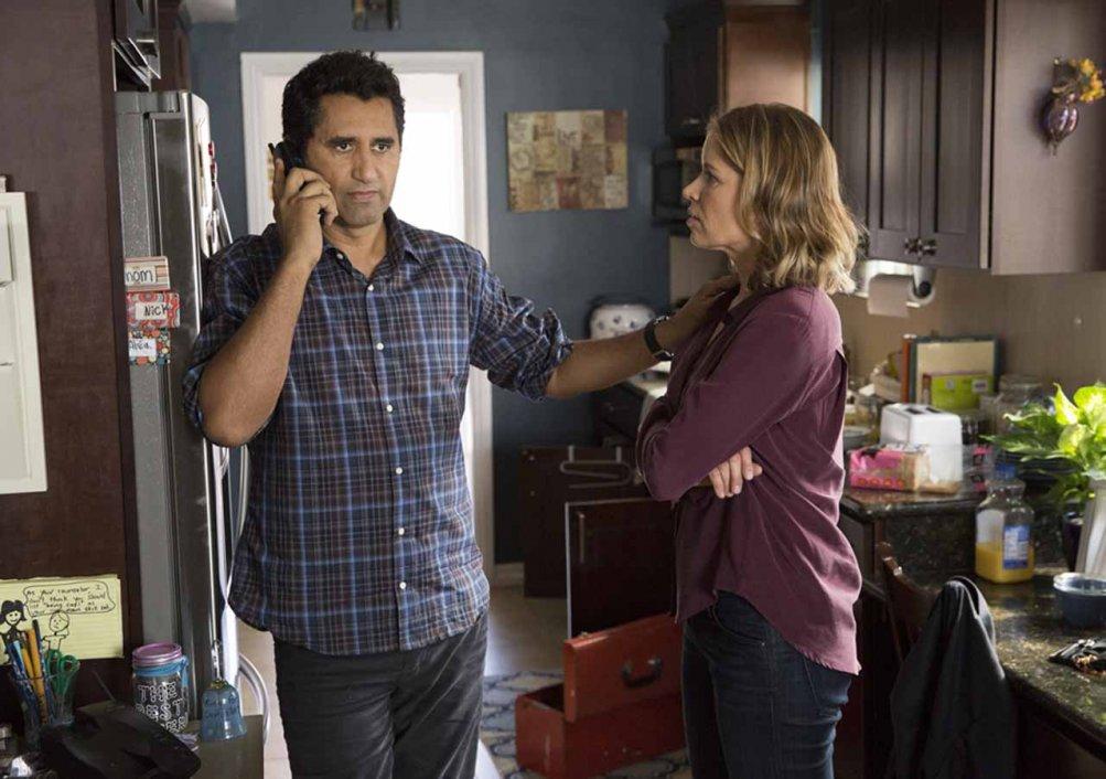 Fear the Walking Dead: Cliff Curtis e Kim Dickens interpretano Travis e Madison