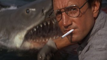 Roy Scheider in una scena de Lo Squalo
