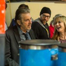 Manglehorn: Al Pacino e Holly Hunter in una scena