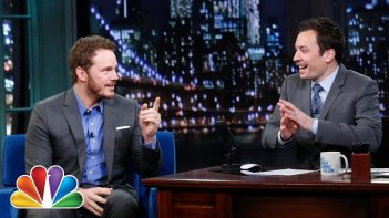 Chris Pratt ospite da Jimmy Fallon per parlare di Jurassic World