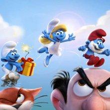 Get Smurfy: la prima immagine promozionale della pellicola animata