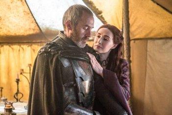 Il trono di spade: Stephen Dillane e Carice van Houten interpretano Stannis e Melisandre in Mother's Mercy