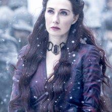 Il trono di spade: Carice van Houten interpreta Melisandre in La danza dei draghi
