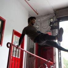 Tracers: Taylor Lautner in una scena d'azione