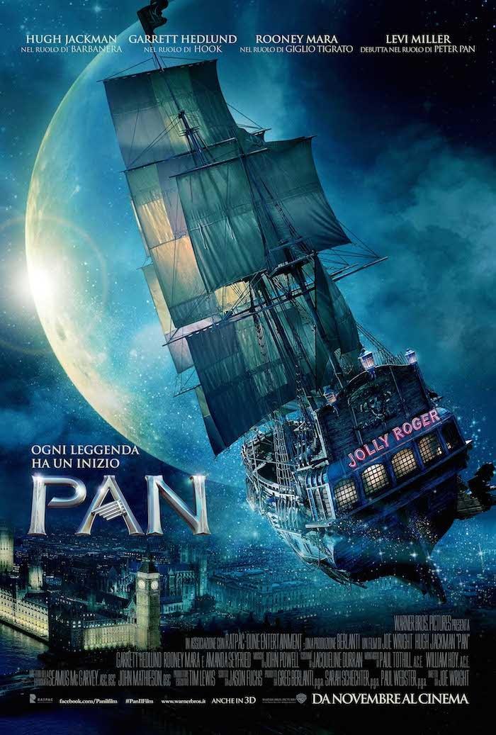 Locandina italiana di Pan