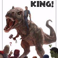 Kevin Feige della Marvel si congratula con la Universal per il successo di Jurassic World che ha battuto il record di The Avengers