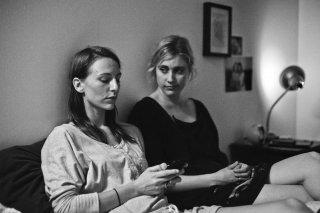 Frances Ha: una scena con la protagonista Greta Gerwig