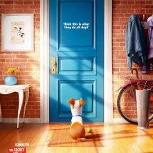 Pets - Vita da animali: la locandina inglese del film