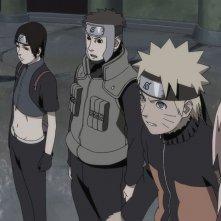 Naruto Shippuden - Il film: La torre perduta, Naruto con la sua squadra in un'immagine del film
