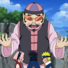 Naruto Shippuden - Il film: La torre perduta, una scena del film d'animazione giapponese