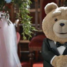 Ted 2: Ted pronto per le sue nozze in una scena del film
