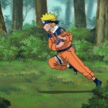 Naruto Shippuden - Il film: La torre perduta, il ninja Naruto in una scena del film d'animazione