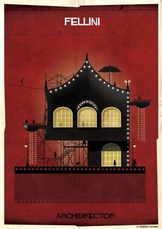 Federico Babina - la casa ispirata a Federico Fellini