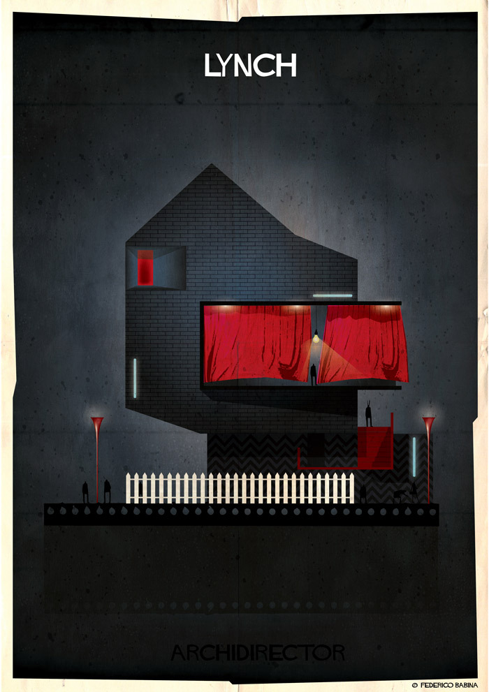 "Federico Babina - la ""casa"" ispirata a David Lynch"