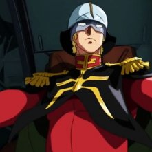 Mobile Suit Gundam - The Origin I - Blue-Eyed Casval: Char Aznable in una scena