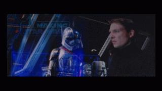 Il risveglio della forza: domnhall gleeson in una scena