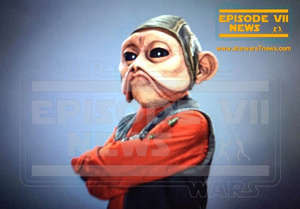 Star Wars: il risveglio della forza, un'immagine diffusa sul web