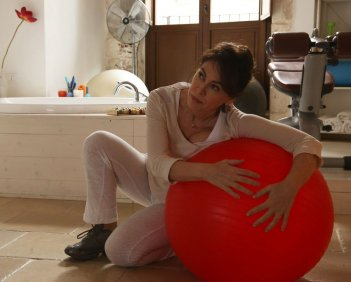 Noi siamo Francesco: Elena Sofia Ricci in un momento del film