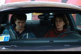 Noi siamo Francesco: Elena Sofia Ricci insieme al protagonista Mauro Racanati in un'immagine del film