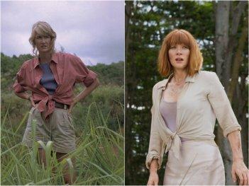 Jurassic Park e Jurassic World a confronto: la Sattler e Claire