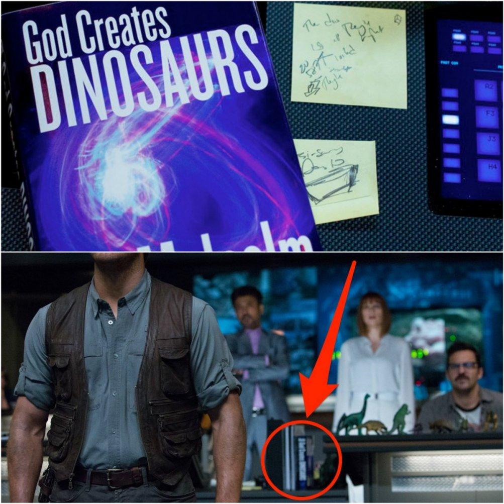 Jurassic World: il libro di Malcolm nel film