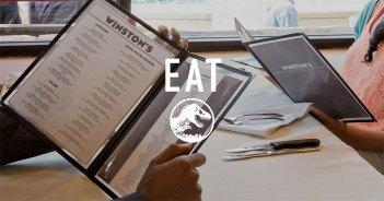 Dal sito di Jurassic World il menù del Winston Steakhouse